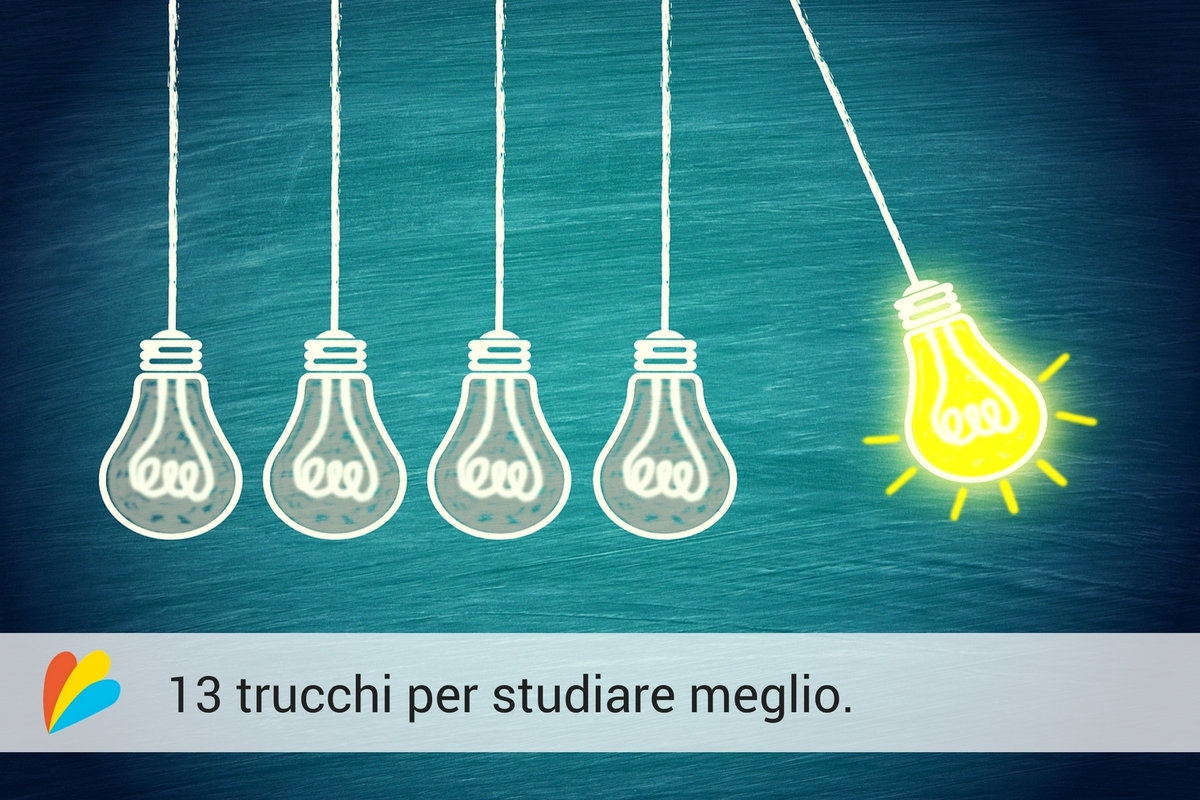 13 idee per studiare meglio
