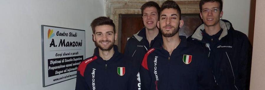 Giocatori Trentino Volley