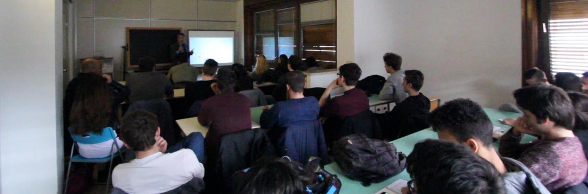 Workshop in aula magna
